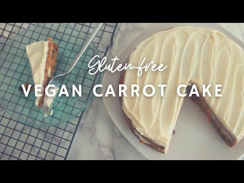 Gluten-Free Vegan Carrot Cake | Easy | Korenn Rachelle