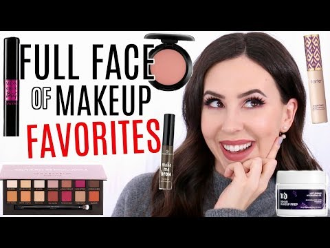 Full Face of Holy Grail Makeup Products || Beauty with Emily Fox