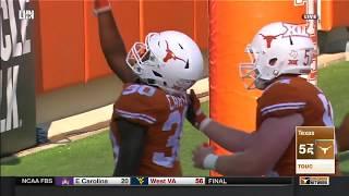 San Jose State vs Texas Football Highlights
