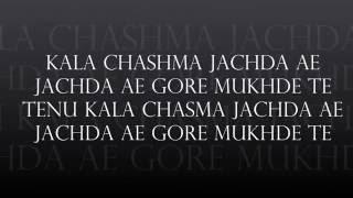 Kala Chashma lyrics Baar Baar Dekho
