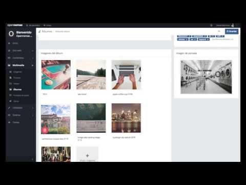 Opennemas - Multimedia - How to Create/Edit Album