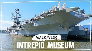 Walking In New York City 4K - Intrepid Sea, Air & Space Museum (4K Ultra HD 60fps)