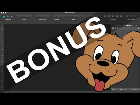 How to turn turn Sketches into Vector Illustration with Affinity Designer (BONUS!) Part 1