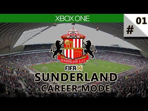 FIFA 14 Xbox One Gameplay   Next Gen Career Mode - Sunderland #1   Rebuilding Begins!