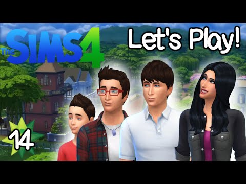 Let's Play: The Sims 4 - Getting a girlfriend (Part 14) | Facecam