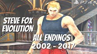 Tekken Series - All Steve Fox Ending Movies 2002 - 2017 (1080p 60fps)