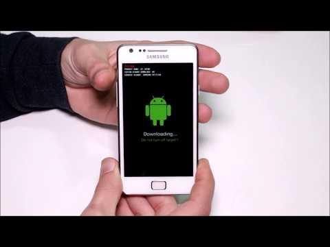 Samsung Galaxy S2 Download Moda Nasıl Alınır?