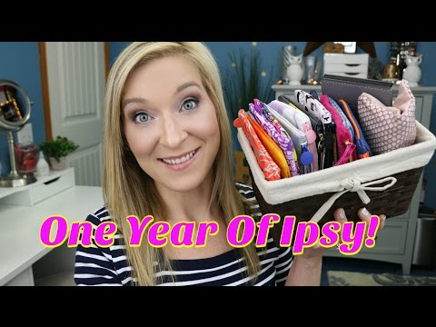One Year in Review of Ipsy ~ How do the bags compare month to month