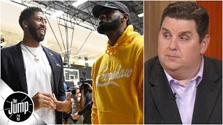 LeBron, Anthony Davis and Lakers need to avoid 'underdog mentality' - Brian Windhorst   The Jump
