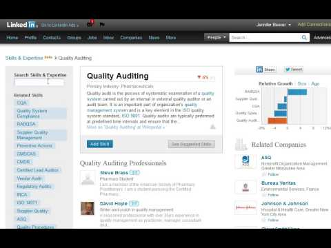 How to Use LinkedIn Endorsements and Skills