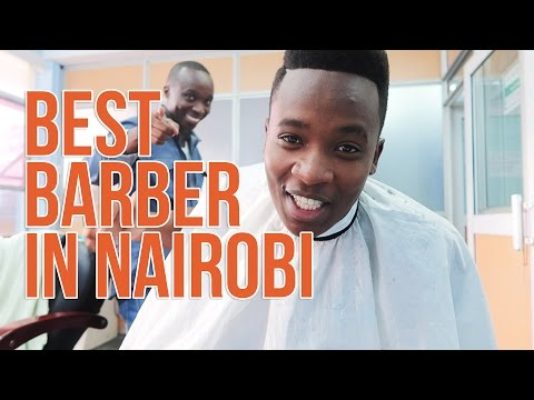 The Best Barber in Nairobi Cuts My Hair // VLOG 001