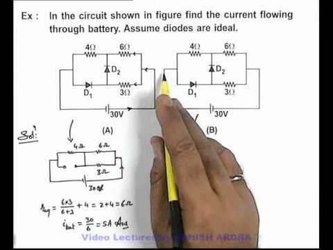 27. Physics | PN Junction & Sem Diodes | Solved Example-3 on PN Junction & its Application (GA)