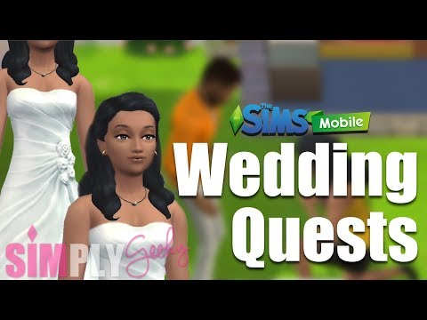 The Sims Mobile - Wedding Planning! - Marriage Unlocked