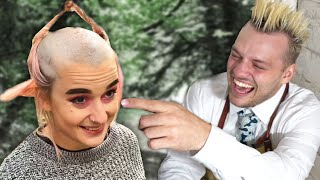 Paying Strangers £1000 To Ruin Their Hair (Extreme Hairdressing)