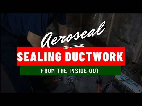 Aeroseal... Sealing your ductwork from the inside out and saving you MONEY!