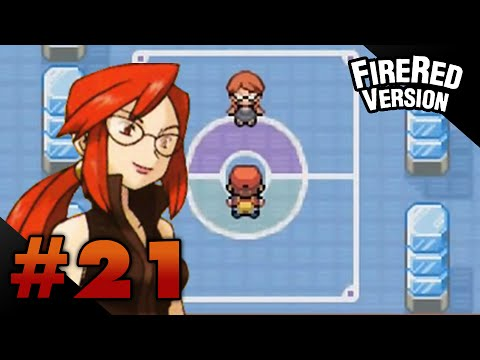 Let's Play Pokemon: FireRed - Part 21 - Elite Four Lorelei