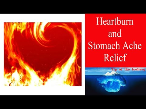 Fast Heartburn and Stomach Ache Relief   - Home Remedy with Baking Soda
