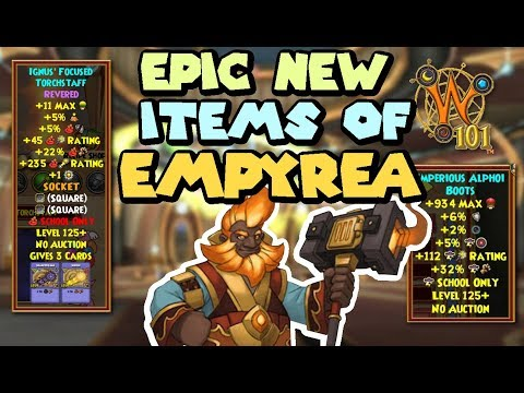 Wizard101 Test Realm: How Does Revered Empyrea Crafting Gear Affect Level 125 PvP?