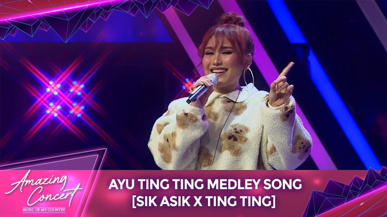 Download Pertama Kali!! Ayu Ting Ting Medley Song [SIK ASIK X TING TING] | Amazing Concert GTV MP3 Gratis