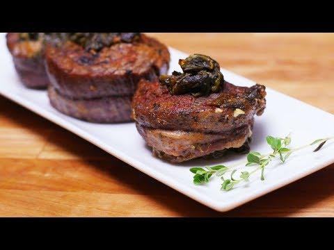 Tender Stuffed Flank Steak in a Pressure Cooker