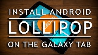 install android 4 4 on galaxy tab p1000 (cm11)(easy way