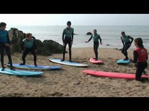 How To Surf - 1st surf lesson?