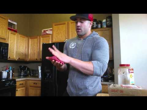 Lean and Low Carb Burger Recipe - Bodybuilding Meal