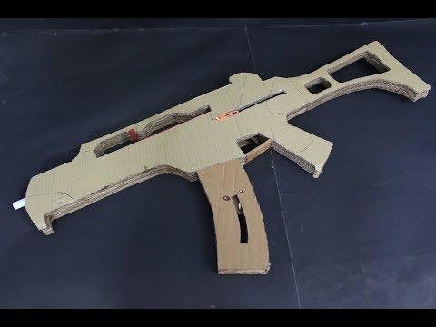 How to make a g36 - that shoots- (cardboard gun)