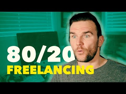 The 80/20 of Getting Started as a Freelancer