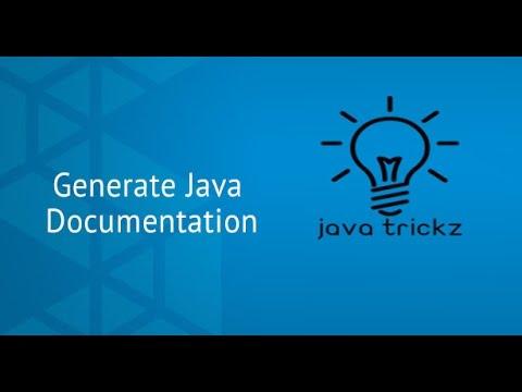 Generate Javadoc in netbeans - JAVA