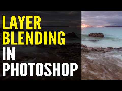 How To Use Layer Masks To Blend 2 Photos: Photoshop Tutorial