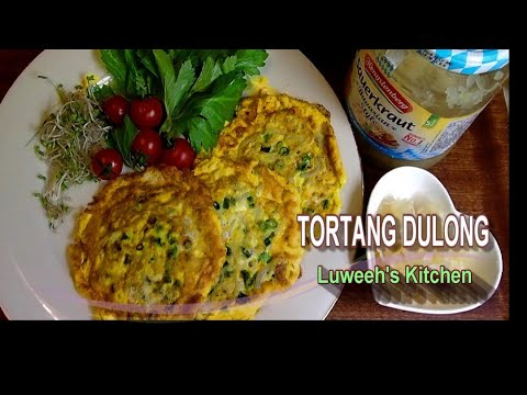 Tortang Dulong Recipe /Small White Fish Omelettes