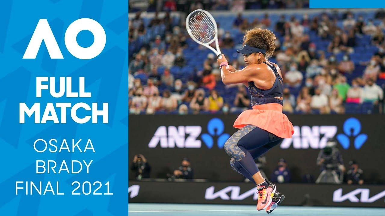 Naomi Osaka vs Jennifer Brady Full Match   Australian Open 2021 Final