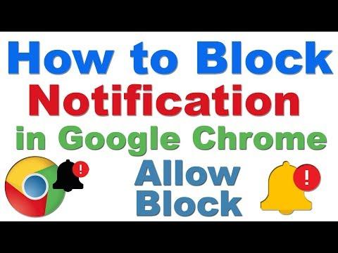 How to Block/Allow Notification on Google Chrome (Chrome Desktop Notifications Settings )