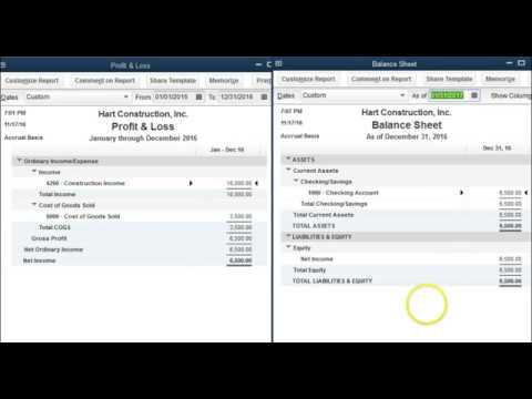 QuickBooks - What is Retained Earnings?