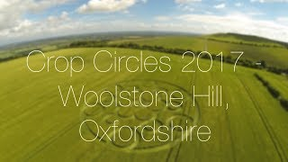 Crop Circles 2017  Woolstone Hill, Nr Ashway, Oxfordshire 👽🚀🎞💥