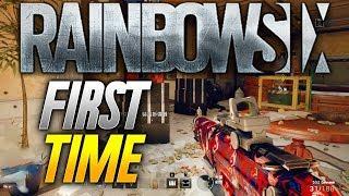 Rainbow 6: MY FIRST TIME PLAYING! (Rainbow 6 Siege Gameplay)