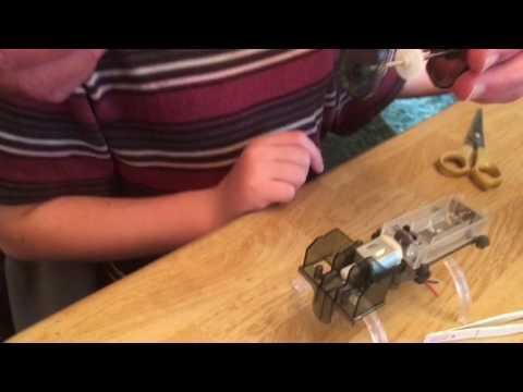 Kaleb's Tin Can Robot Build