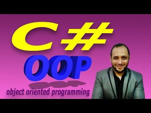 #212 C# OOP Print String Array Class C SHARP كلاس يطبع المصفوفة النصية تعليم سي شارب