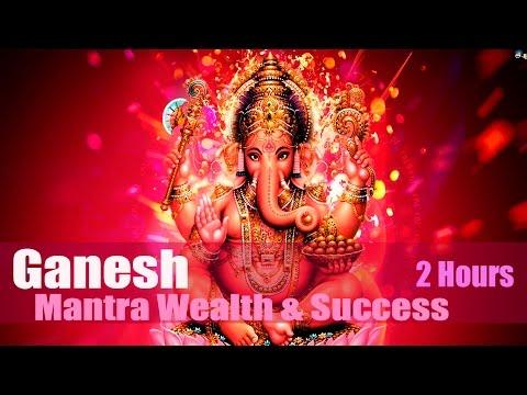 Mantra GANESH 🌸ॐ Om Gam Ganapataye Namaha (2 Hours)💎Wealth💎👪Success💰 🌸Мантра Ганеш💎💰👪💎Успех💑🌸