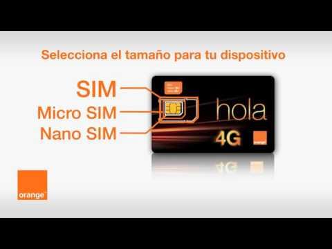 Cómo activar la tarjeta SIM 4G de Orange