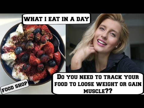 Do you NEED to track calories or macros to get results? || FULL DAY OF EATING VLOG