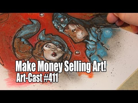 How To Make Money Selling Art Online?
