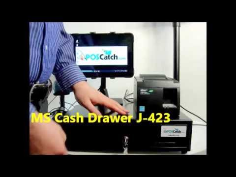 Cash Drawer Review: MS Cash Drawer J-423/Printer Driven Electronic, Best in Class