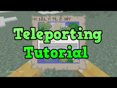 Minecraft Xbox 360 + PS3: How to Teleport Tutorial