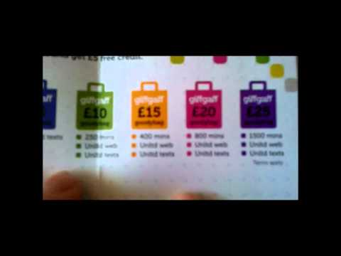 GiffGaff Micro SIMs