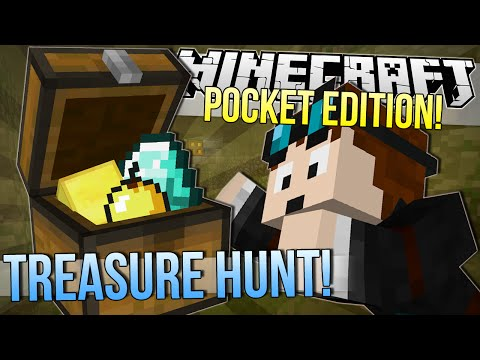 Minecraft Pocket Edition | TREASURE HUNT