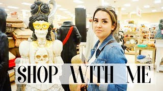 COME FALL HOME DECOR SHOPPING WITH ME | ALEX AND MICHAEL
