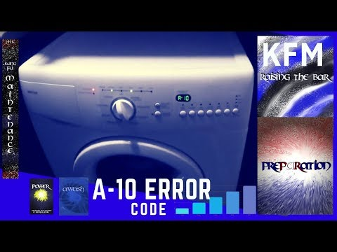 How To Clear Stubborn Washing Machine Error Code A10 After Unclogging Pump