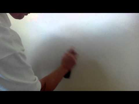 removing pencil marks from painted walls